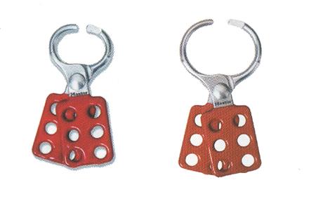 aldaba de bloqueo para 6 candados en dos tamaños 416 y 417