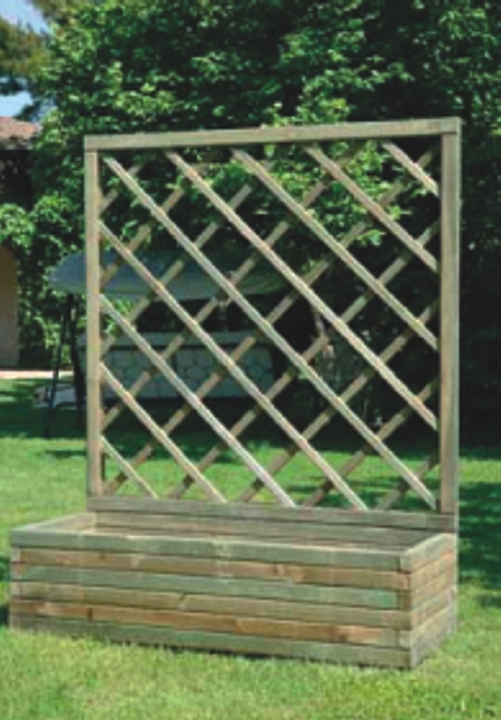 La terraza de las margaritas en asturias o el porqu de for Celosia madera jardin
