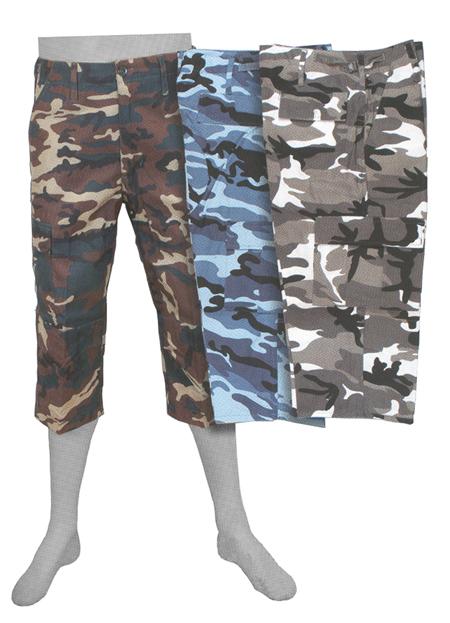Pantalon pirata camuflaje 16018111