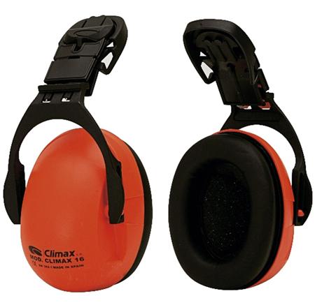 Auricular antiruido climax 16-P para colocar en casco de obra