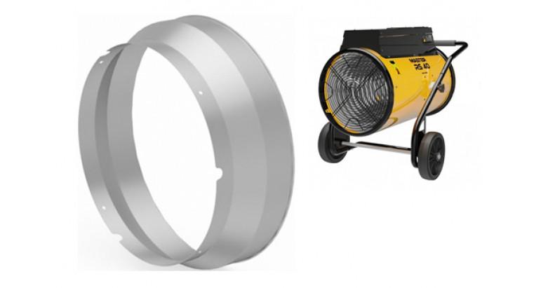 Aro de fijacion de conductos Master para cañon de calor RS-40 eléctrico