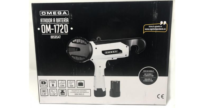 Atadora a batería Omega OM1720