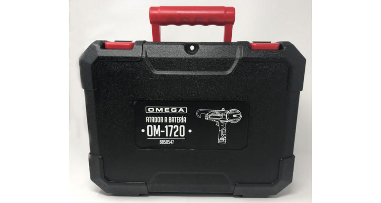 maletin de transporte de la atadora a bateria omega om1720