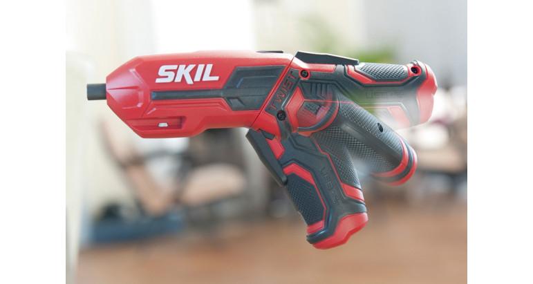 Atornillador recto skil 2710GA para uso profesional con cabezal pivotante