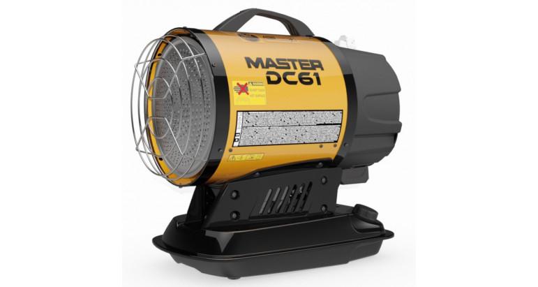 Cañon Master de calor a gasoil, con bateria DC61