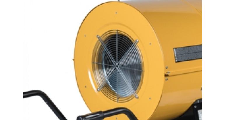 Potente ventilador compacto acoplado directamente a la helice Master bv 400