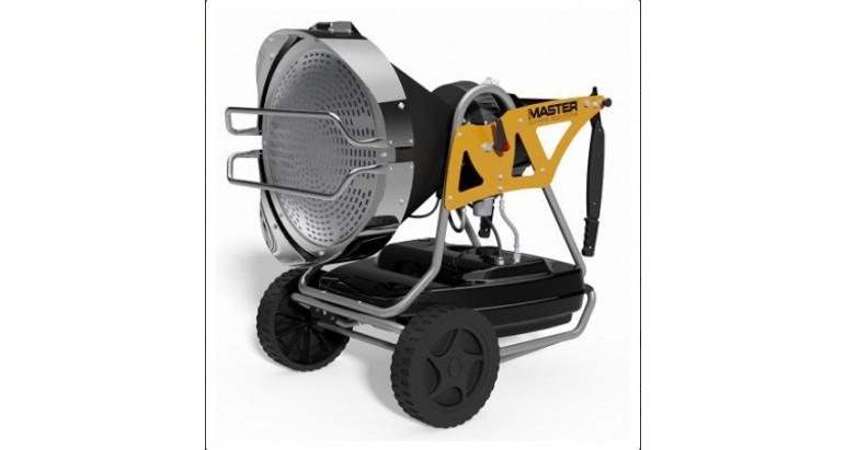Master calentador gasoil XL91 calor por radiación