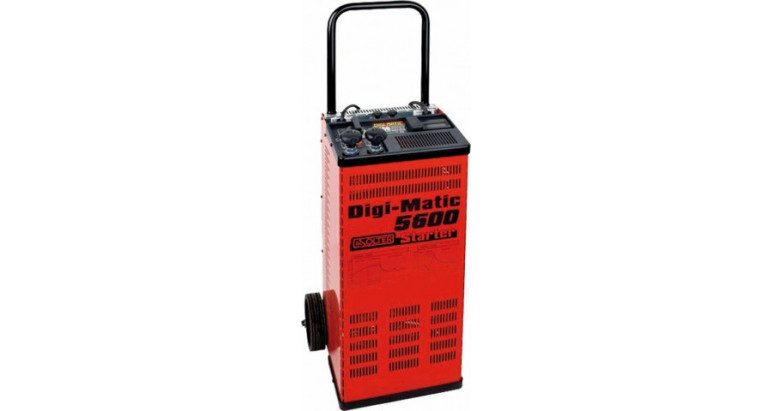 Cargador de baterias para coche profesional Solter Digimatic 5600