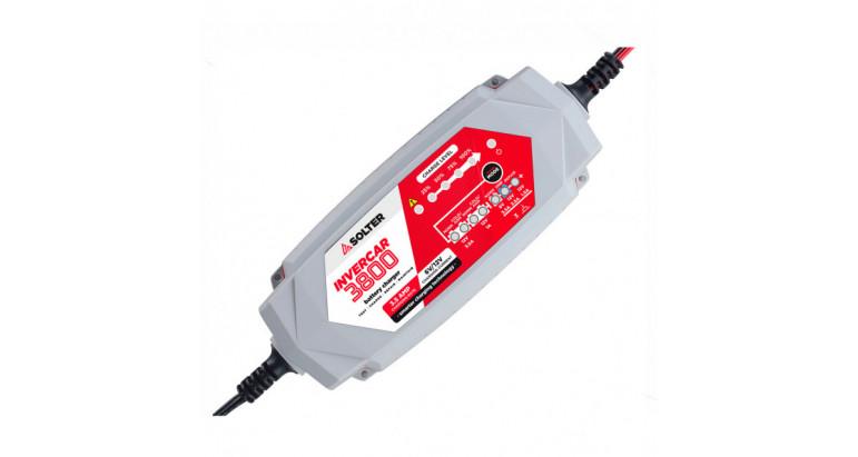 Cargador de baterías Solter Invercar 3800