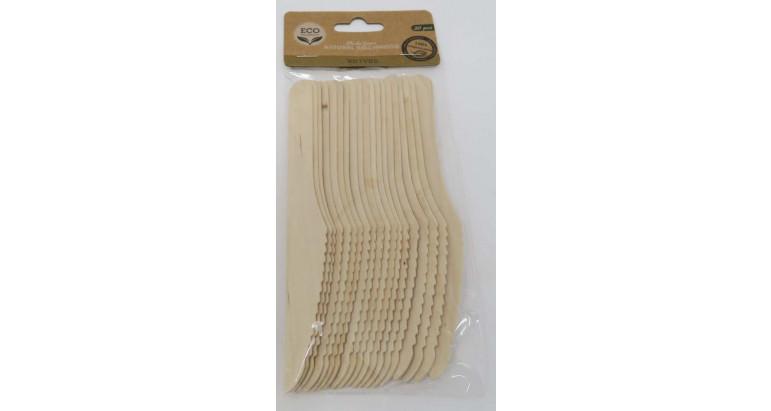 Cuchillo madera ecologico biodegradables