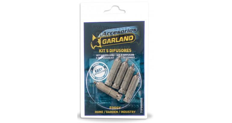 5 Difusores de repuesto para nebulizador Garland 71FG000005