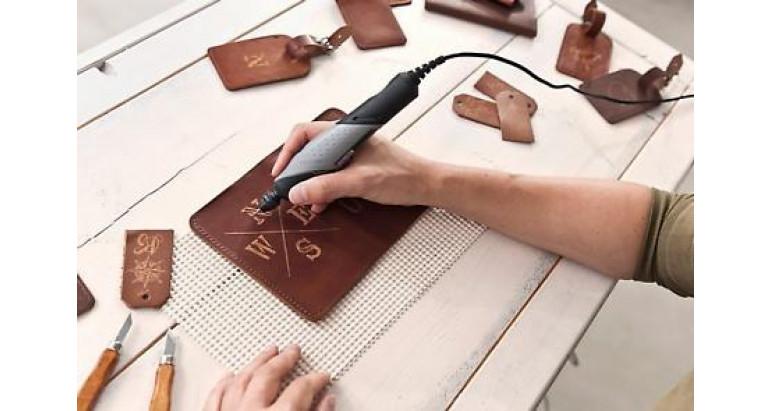 accesorio de grabado en cuero para Multiherramienta Dremel Stylo+