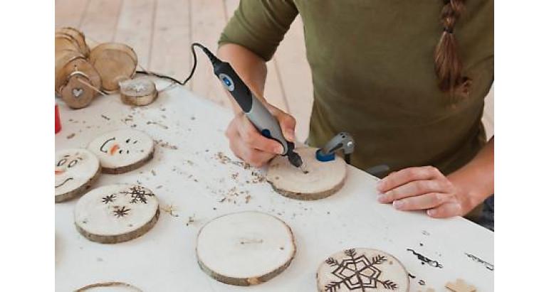 cabezal para trabajar en madera Multiherramienta Dremel Stylo+ para madera