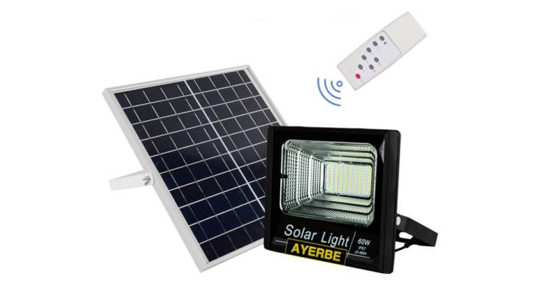 Foco solar Led 60W Ayerbe