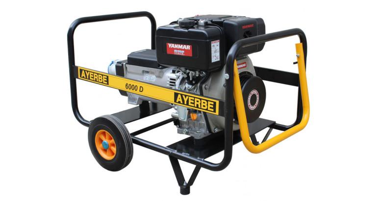 Generador Ayerbe 6000 yanmar diesel
