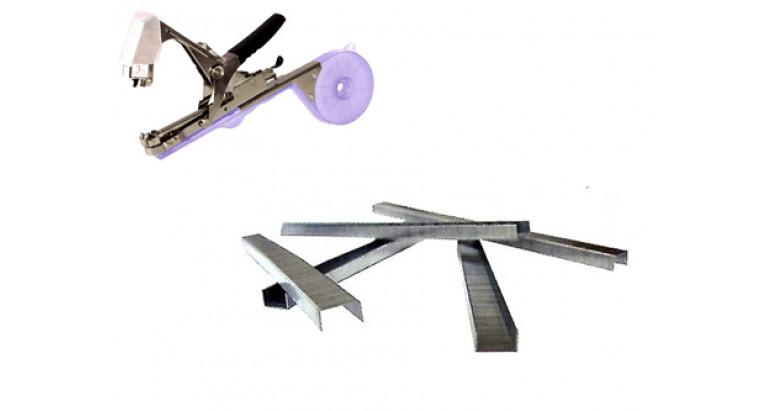 Grapas para las cintas de entutelar. Grapas de respuesto para atadora de ramas J99