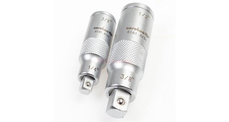 Adaptadores para llaves de vaso y puntas de atornillar Carolus 5141.0002