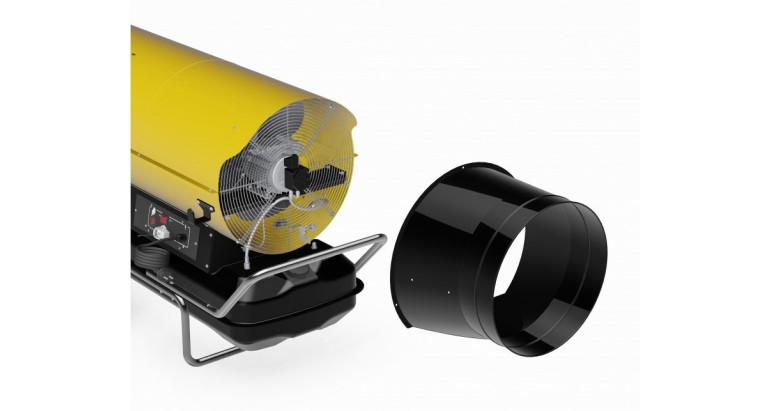 Adaptador para conductos de aire Master aptos para recirculacion de aire 4100.826 - 4100.825 - 4517.788