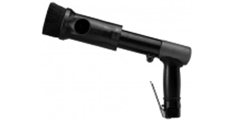 Martillete de agujas LAR-2505 con el acople para aspirar particulos AC-CA2505