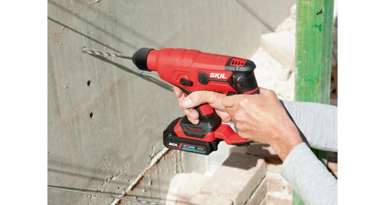 3810CA es un martillo con opción de percutor perfecto para trabajos en hormigón