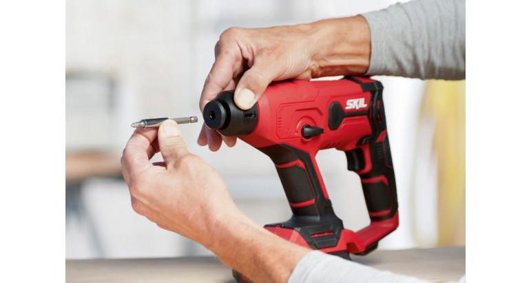 Martillo batería Skil con opción de percutor neumático