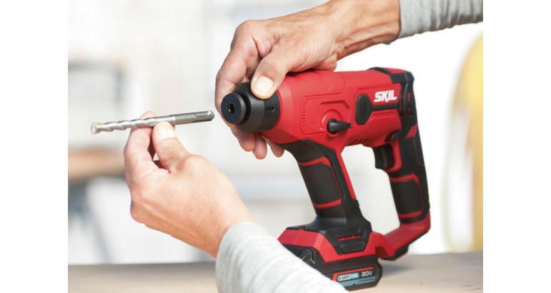 Skil martillo percutor de batería con adaptador para brocas SDS