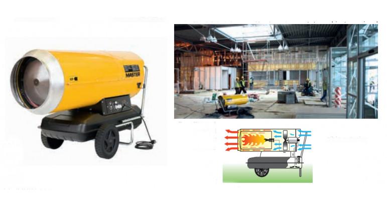 Master BLP-103 calentadores de gas