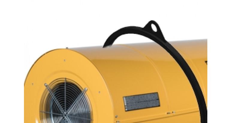 Gancho robusto para el transporte del cañón de calor Master bv400