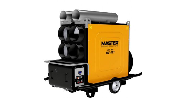 Generador de calor Airbus Master BV 471 FS de 4 salida