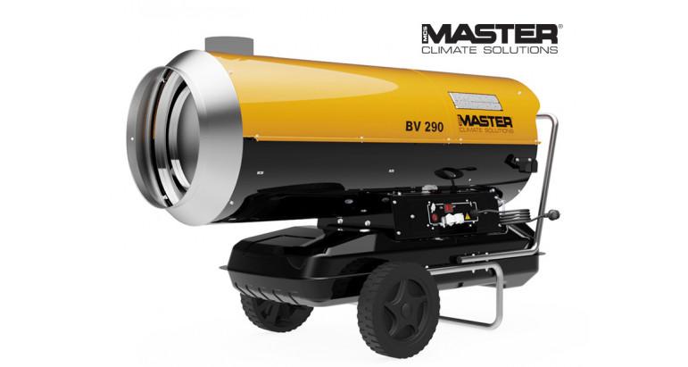 Master BV290 cañón de calor para carpas con salida de humos - versión 2021