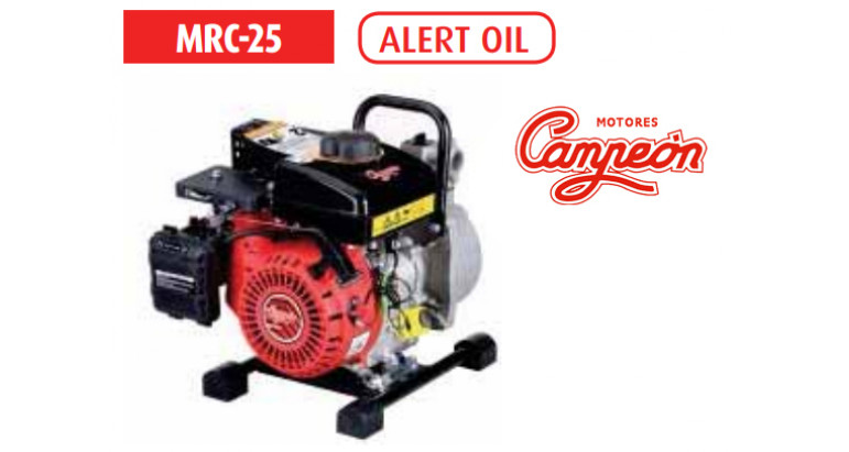 Motobomba Campeon MRC-25 4 tiempos gasolina