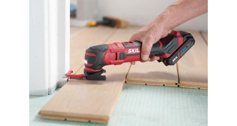 Skil multiherramienta 3620AA gama profesional con tope de profundidad para las tareas de serrado y corte