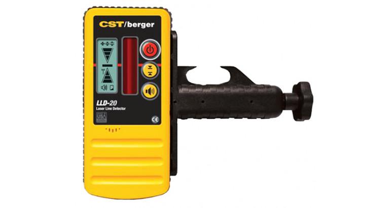 Receptor línea para niveles laser CST LLD20