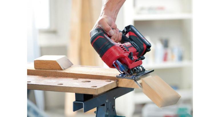 Skil 3420da es una sierra de calar con base ajustable para poder cortar a bisel