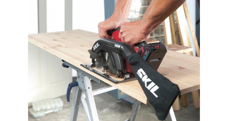 3520CA sierra circular profesional con bolsa para polvo