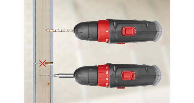 Skil 2461AA atornillador y taladro a batería con doble velocidad lenta y rápidda
