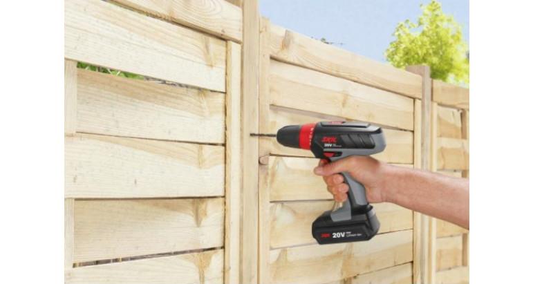 Taladro batería de bricolaje para madera
