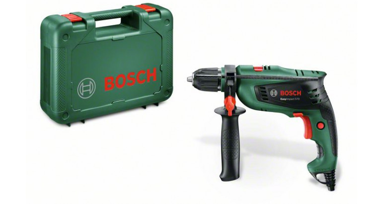 Taladro Bosch percutor para bricolaje EasyImpact 570