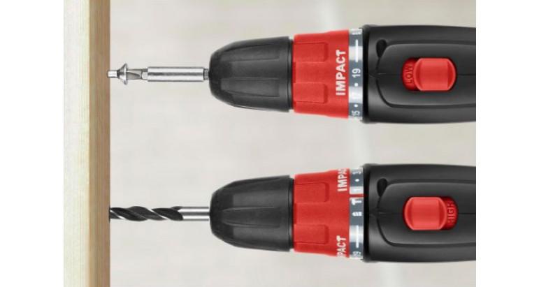 Atornillador a batería con dos velociadades Skil 2834AG
