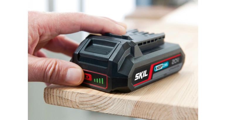Baterías de litio con indicador del nivel de carga, ell sistema de la batería te permite hasta un 25% más de autonomía