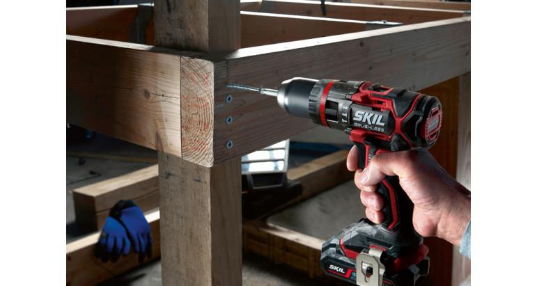 Atornillador a batería Skil 3070 con 17 pares de apriete