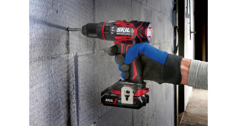 Taladro batería percutor 3070CA Skil perfecto para los trabajos más exigentes