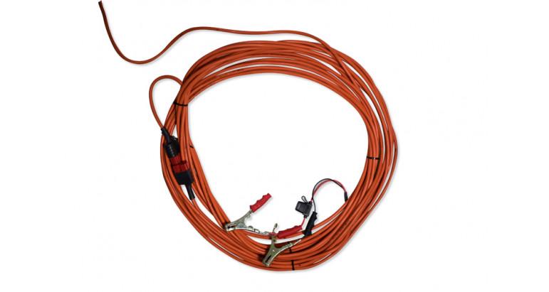 20 metros de cable para el vareador a bateria Garland.