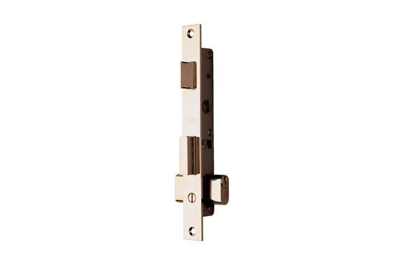 Cerradura Tesa 2220 / 12 Niquel, para puerta metalica, perfil 23mm