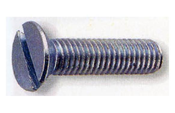 TORNILLO ZINCADO DIN 963 CABEZA PLANA M-3X35 MM
