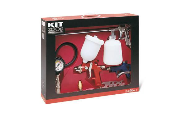 KIT PROFESIONAL AEROMETAL 3000