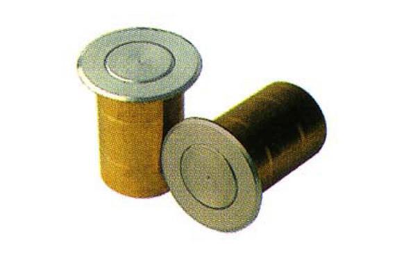 DEDAL AUTOMATICO LATON MUELLE INOX 400-15MM L