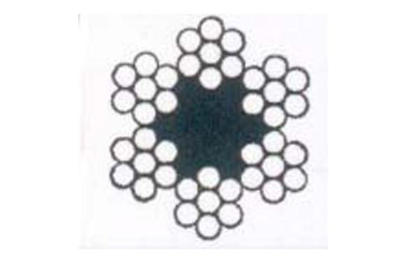 CABLE ACERO GALVANIZADO ROLLO 100 M Ø 2 (6 X 7) +1 ALMA TEXTIL