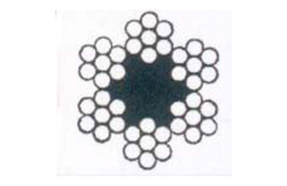 CABLE ACERO GALVANIZADO ROLLO 25 M Ø 4 (6 X 7) +1 ALMA TEXTIL