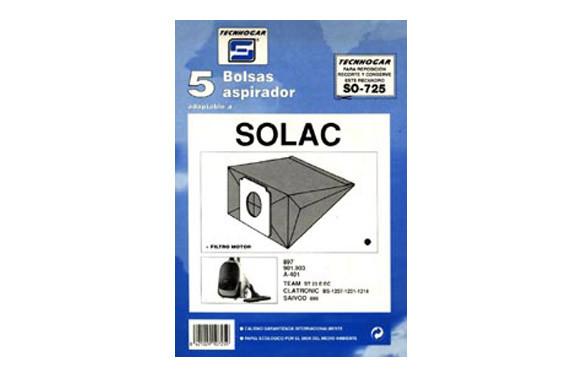 BOLSA ASPIRADOR SOLAC 901-903-401-897 5 UDS